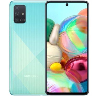 Smartfon SAMSUNG Galaxy A71 Niebieski SM-A715FZBUXEO