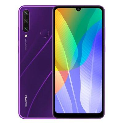 Smartfon HUAWEI Y6p Purpurowy