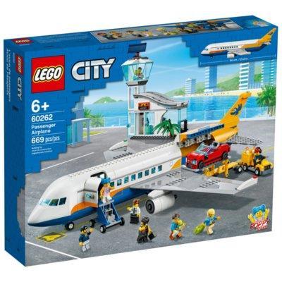 Klocki LEGO City - Samolot pasażerski 60262