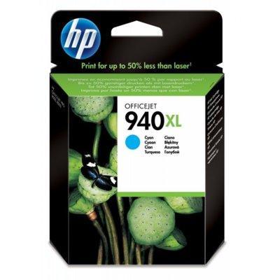 Tusz HP 940XL Cyjan C4907AE