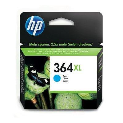 Tusz HP 364XL Cyjan CB323EE