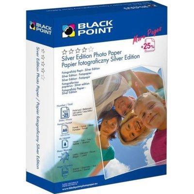 Papier BLACK POINT PFA6G230B Błyszczący 230g A6