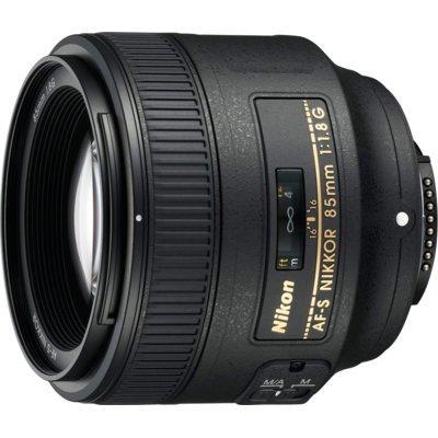 Obiektyw NIKON AS-S 85mm f/1.8G (Nikon F)