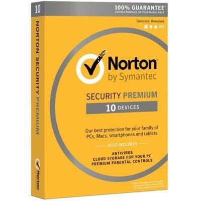 Program Norton Security Premium 3.0 PL (10 urządzeń, 1 rok)