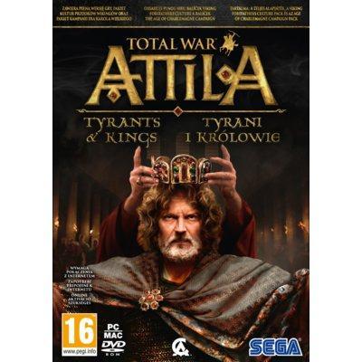 Gra PC Total War: Attila - Królowie i Tyrani