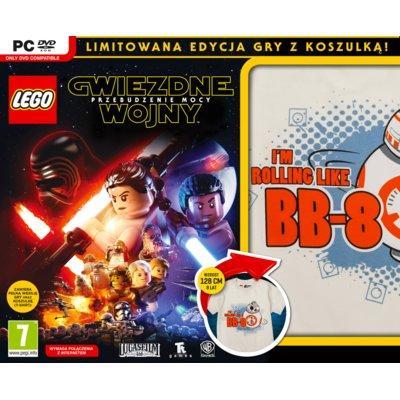 Gra PC LEGO Gwiezdne wojny: Przebudzenie Mocy + Koszulka BB-8