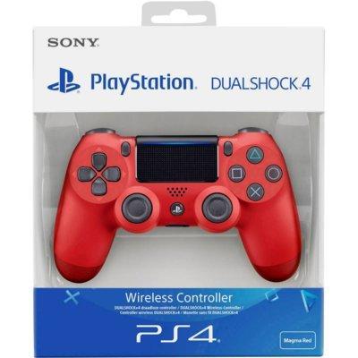 Kontroler bezprzewodowy SONY PlayStation DUALSHOCK 4 v2 Czerwony