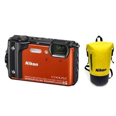 Aparat NIKON Coolpix W300 Pomarańczowy zestaw Holiday