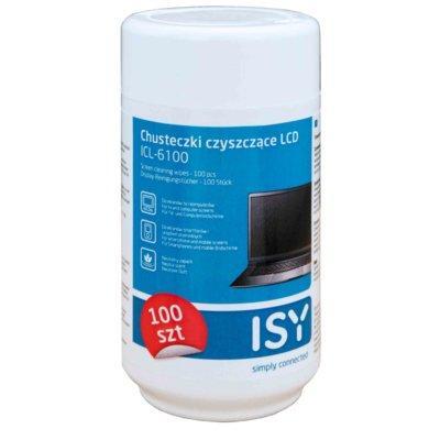 Chusteczki czyszczące do LCD ISY ICL-6100