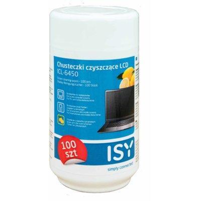 Chusteczki czyszcące do LCD ISY ICL-6450 o zapachu cytryny