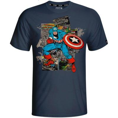 Koszulka GOOD LOOT Marvel Captain America Comics - rozmiar M