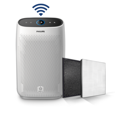 Oczyszczacz powietrza PHILIPS Seria 1000 AC1214/10 z aplikacją na telefon