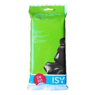 Chusteczki do czyszczenia tapicerki skórzanej ISY ICL-6225