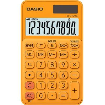 Kalkulator CASIO SL-310UC-RG-S Pomarańczowy