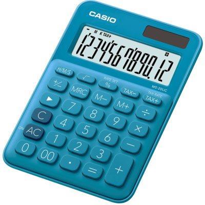 Kalkulator CASIO MS-20UC-BU-S Niebieski