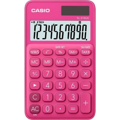 Kalkulator CASIO SL-310UC-RD-S Ciemnoróżowy