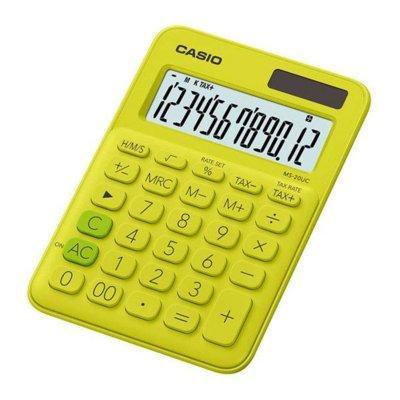 Kalkulator CASIO MS-20UC-YG-S Żółty