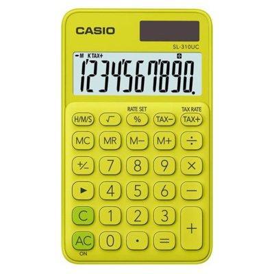 Kalkulator CASIO SL-310UC-YG-S Żółty