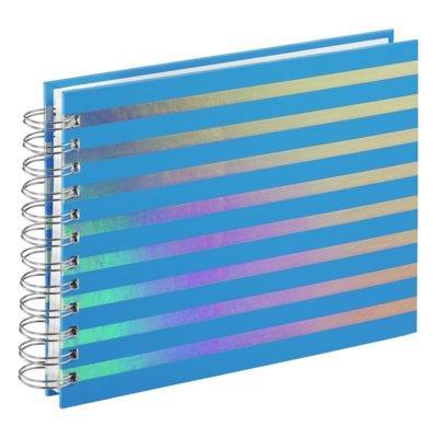 Album HAMA Flashy 24x17 cm 50 białych stron niebieski