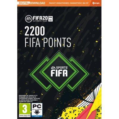 Karta Pre-paid FIFA 20 Ultimate Team 2200 FIFA Points