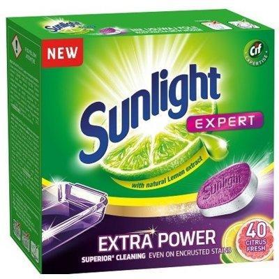 Tabletki do zmywarki SUNLIGHT Expert Extra Power Citrus Fresh 40 szt.