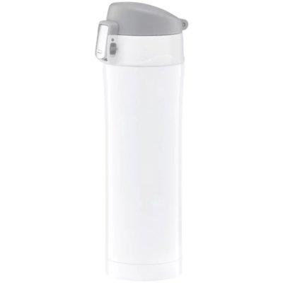 Kubek termiczny AMBITION 82853 z blokadą Glossy 420ml Biały