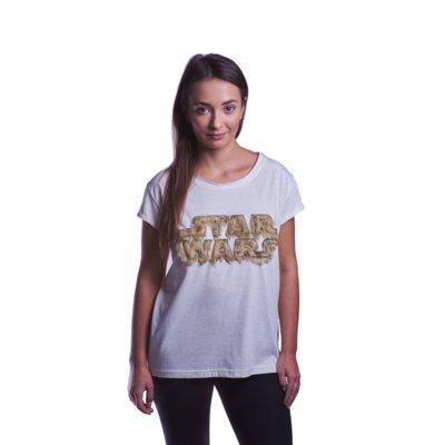 Koszulka GOOD LOOT Star Wars Fuzzy Logo Ladies T-shirt - rozmiar XL