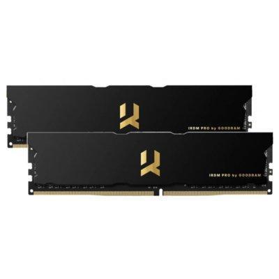 Pamięć RAM GOODRAM IRDM Pro 32GB (2x 16GB) DDR4 3600MHz CL17 IRP-3600D4V64L17S/32GDC