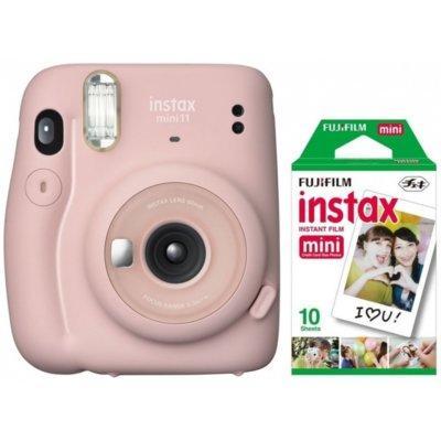 Aparat FUJIFILM Instax mini 11 Blush Pink Różowy + 10 wkładów Instax mini