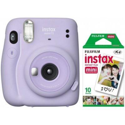 Aparat FUJIFILM Instax mini 11 Lilac Purple Fioletowy + 10 wkładów Instax mini