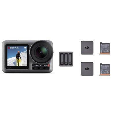 Kamera sportowa DJI Osmo Action + zestaw Charging Kit