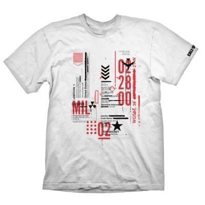 Koszulka KOCH MEDIA Call of Duty: Cold War T-Shirt Defcon-1 White - rozmiar M