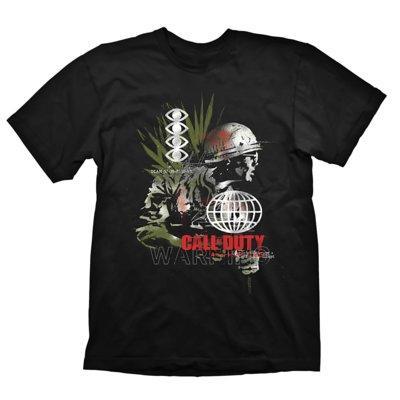 Koszulka KOCH MEDIA Call of Duty: Cold War T-Shirt Army Comp Black - rozmiar XL