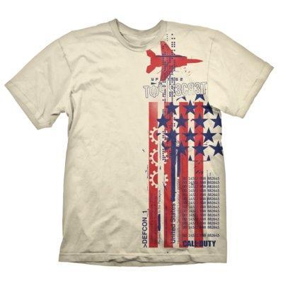 Koszulka KOCH MEDIA Call of Duty: Cold War T-Shirt Top Secret Creme - rozmiar M
