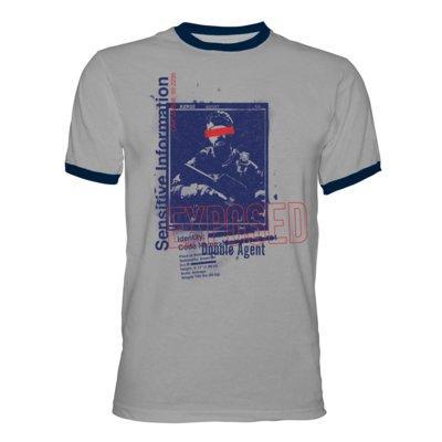 Koszulka KOCH MEDIA Call of Duty: Cold War Ringer Shirt Exposed - rozmiar M