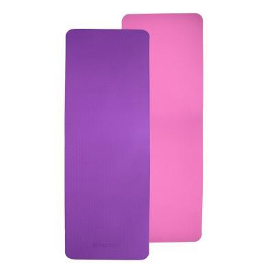 Mata do ćwiczeń doble 173 x 61 cm fioletowo-różowa - insportline - fioletowo-różowy