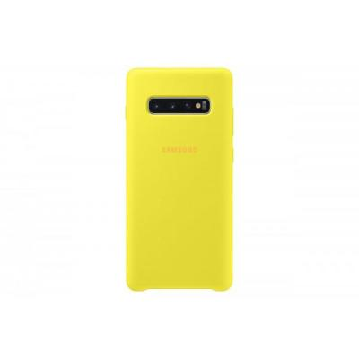 SAMSUNG Silicone Cover do Galaxy S10+ Yellow