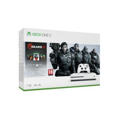 MICROSOFT XBOX ONE S 1TB + Gears 5 + kolekcja gier Gears of War