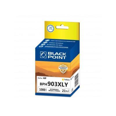 BLACK POINT BPH903XLY zamiennik HP T6M11AE yellow >> DO 30 RAT 0% Z ODROCZENIEM NA CAŁY ASORTYMENT! RRSO 0% > BEZPIECZNE ZAKUPY Z DOSTAWĄ DO DOMU