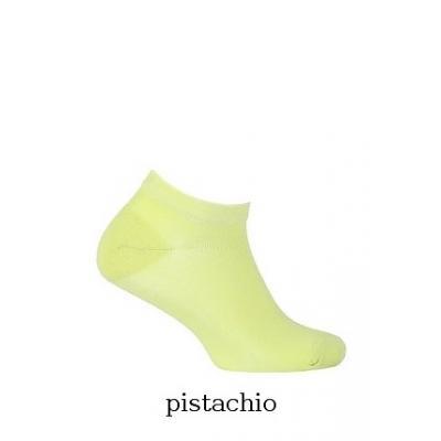 Stopki wola soft cotton w11.060 0-2 lat gładkie rozmiar: 18-20, kolor: zielony/pistachio, wola