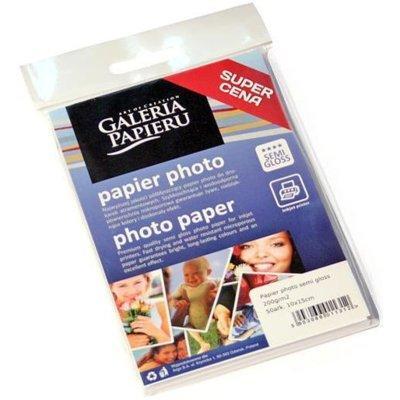 Papier fotograficzny GALERIA PAPIERU Photo Semi Gloss 200g 10 x 15 cm