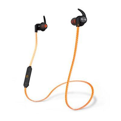 Słuchawki bezprzewodowe CREATIVE Outlier Sports Pomarańczowo-czarny