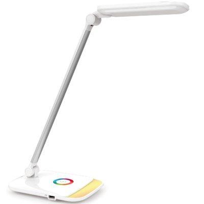 Lampka biurkowa PLATINET PDLQ60 LED 12 W + USB