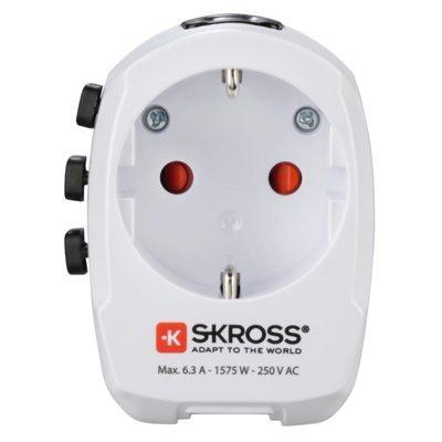 Adapter podróżny HAMA World Travel Pro Light 2xUSB 001373830000