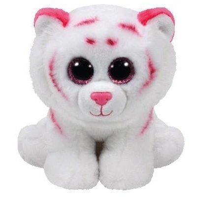 Maskotka TY INC Beanie Babies (42186) Tabor - Różowo-biały tygrys 15cm