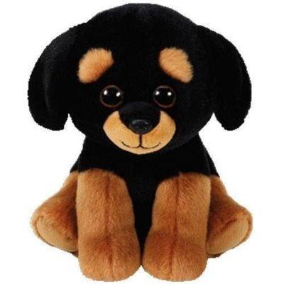 Maskotka TY INC Beanie Babies Trevour - rottweiler 15cm 42250