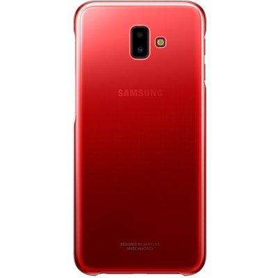 Etui SAMSUNG Gradation do Galaxy J6+ Czerwony EF-AJ610CREGWW