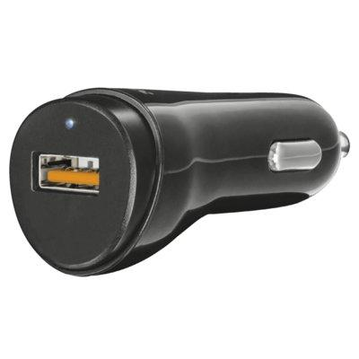 Ładowarka samochodowa TRUST 21819 Ultra Fast USB Car Charger with QC3.0 and auto-detect