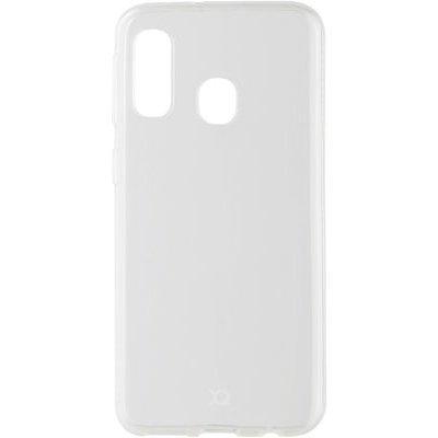 Etui XQISIT Flex Case Samsung Galaxy A20e Bezbarwny