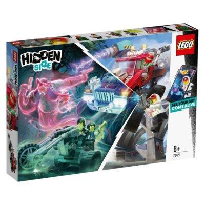 Klocki LEGO Hidden Side - Samochód kaskaderski El Fuego (70421)